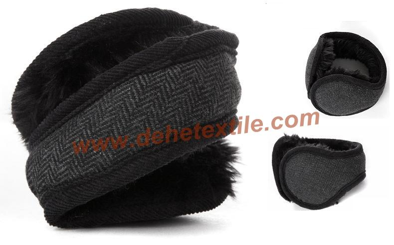 Polar fleece Customized Winter Ear Muff Warm Ear Covers