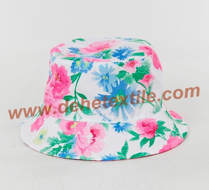 Lady Cotton Floral Sun baby female cool hat 4
