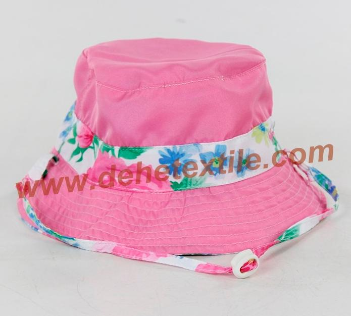Lady Cotton Floral Sun baby female cool hat 1