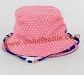 Lady Cotton Floral Sun baby female cool hat