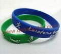 Silicone Banding Customized Silicone Bracelet Wristbands     1