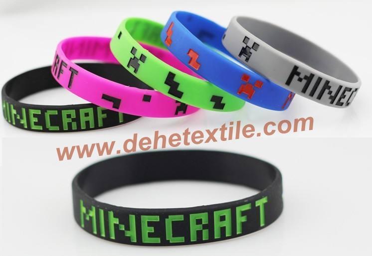 Silicone Banding Customized Silicone Bracelet Wristbands     2