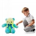 New Style LED Inductive Teddy Bear Stuffed Animals Plush Toy  2