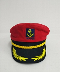 Military uniform police Amy officer peak caps