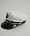 Military uniform police Amy officer peak caps 5