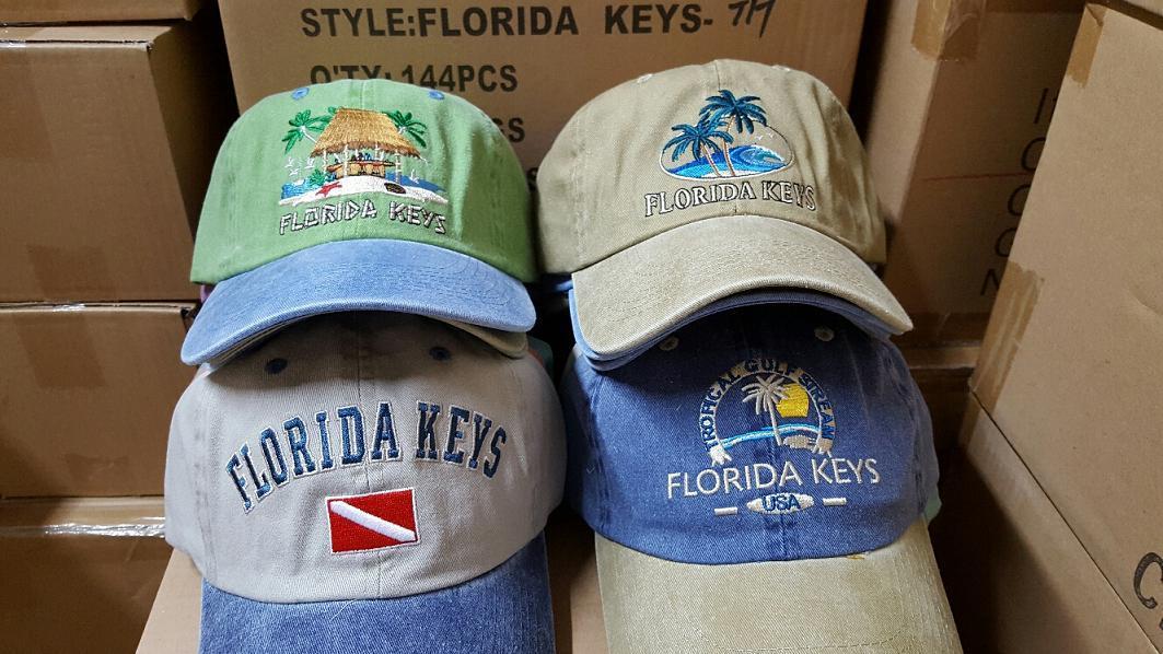 America Pigment Wash Cotton Beach Gorros Souvenir EDWC Jockey cap 2