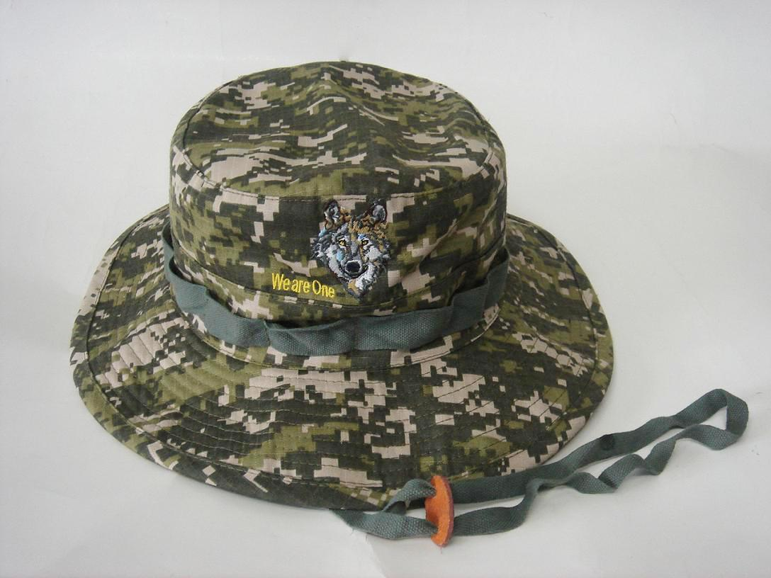 Camouflage Fashion  Bucket hats 1