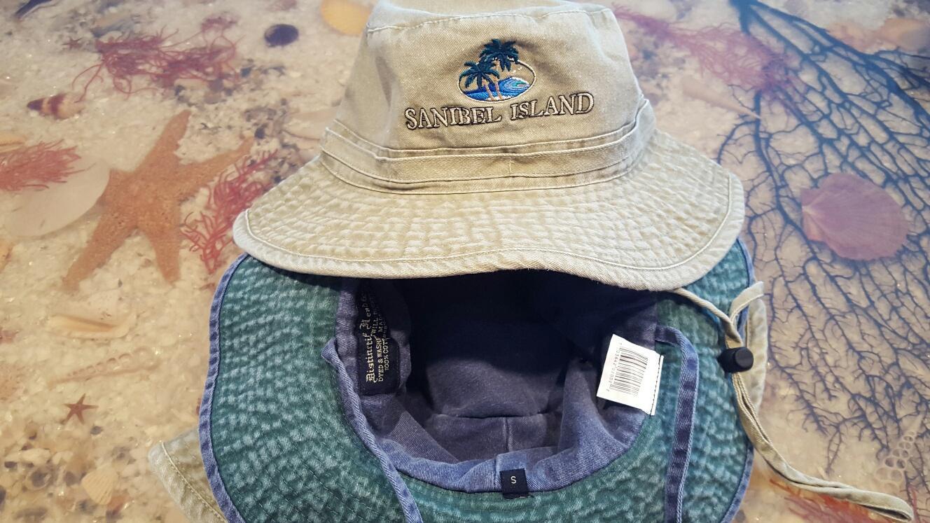 Beach Pigment Wash Wide Brim Florida Beach Hat 4