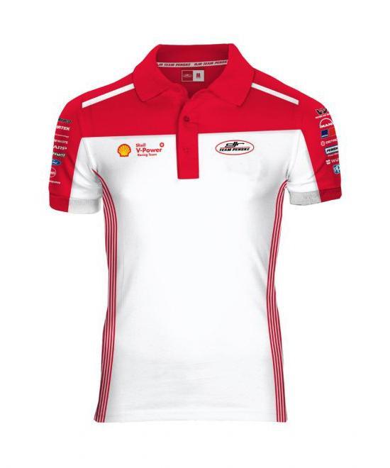 Cotton Polyester Shell Polo Shirt 3