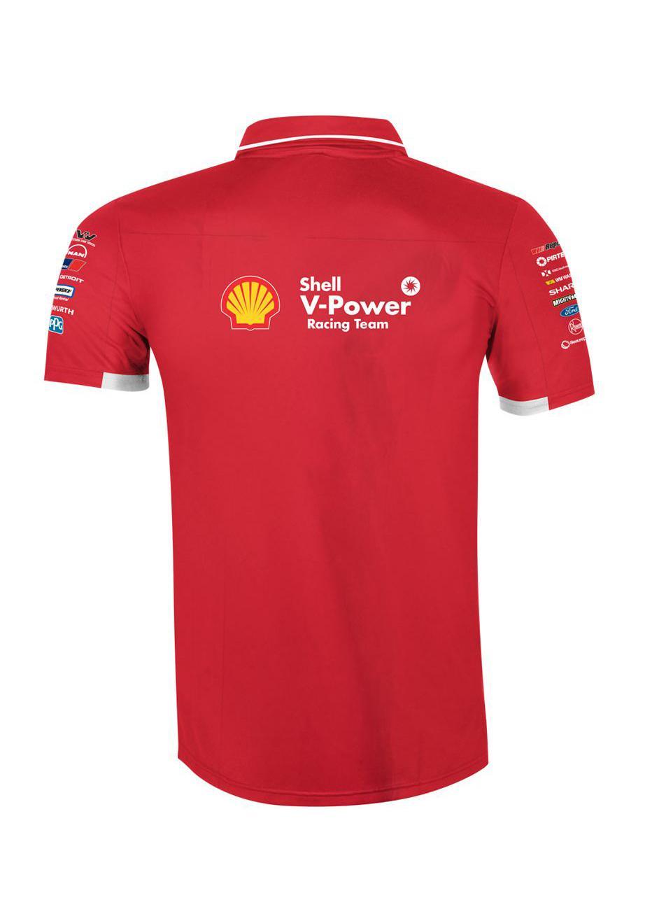 Cotton Polyester Shell Polo Shirt 6