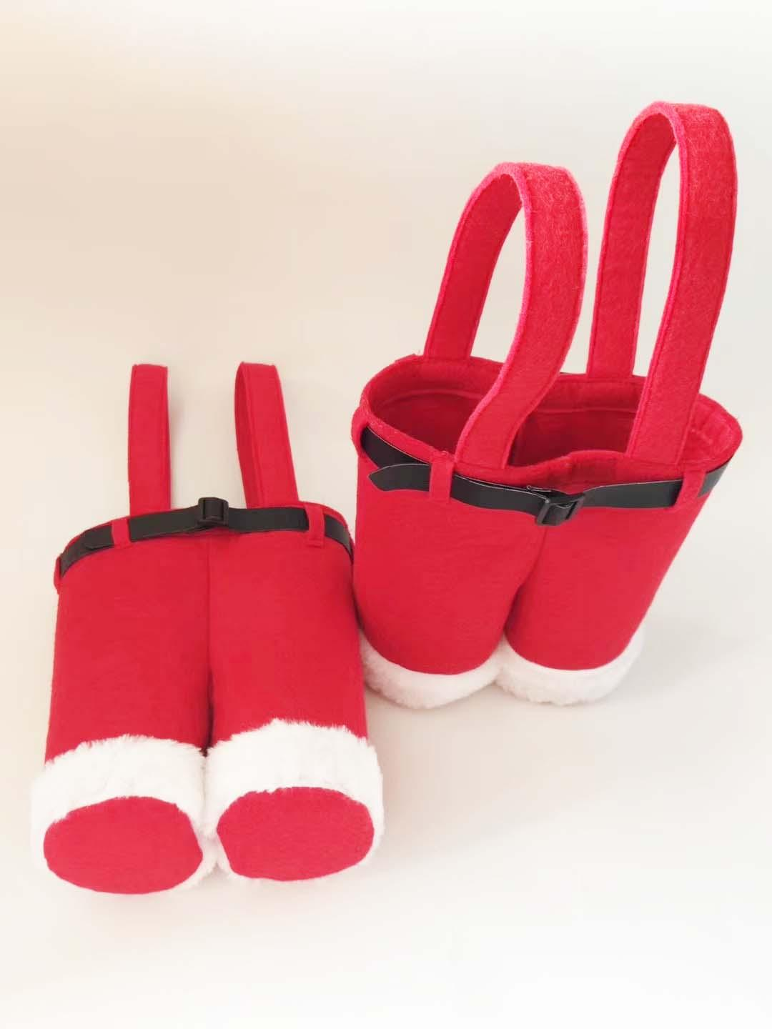 Christmas Red Bottle Holder 3