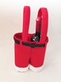 Christmas Red Bottle Holder 2