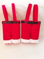 Christmas Red Bottle Holder