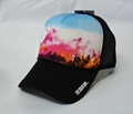 Sublimation Printing Gorros Cotton Jockeys Trucker Mesh Cap (DH-LH738)