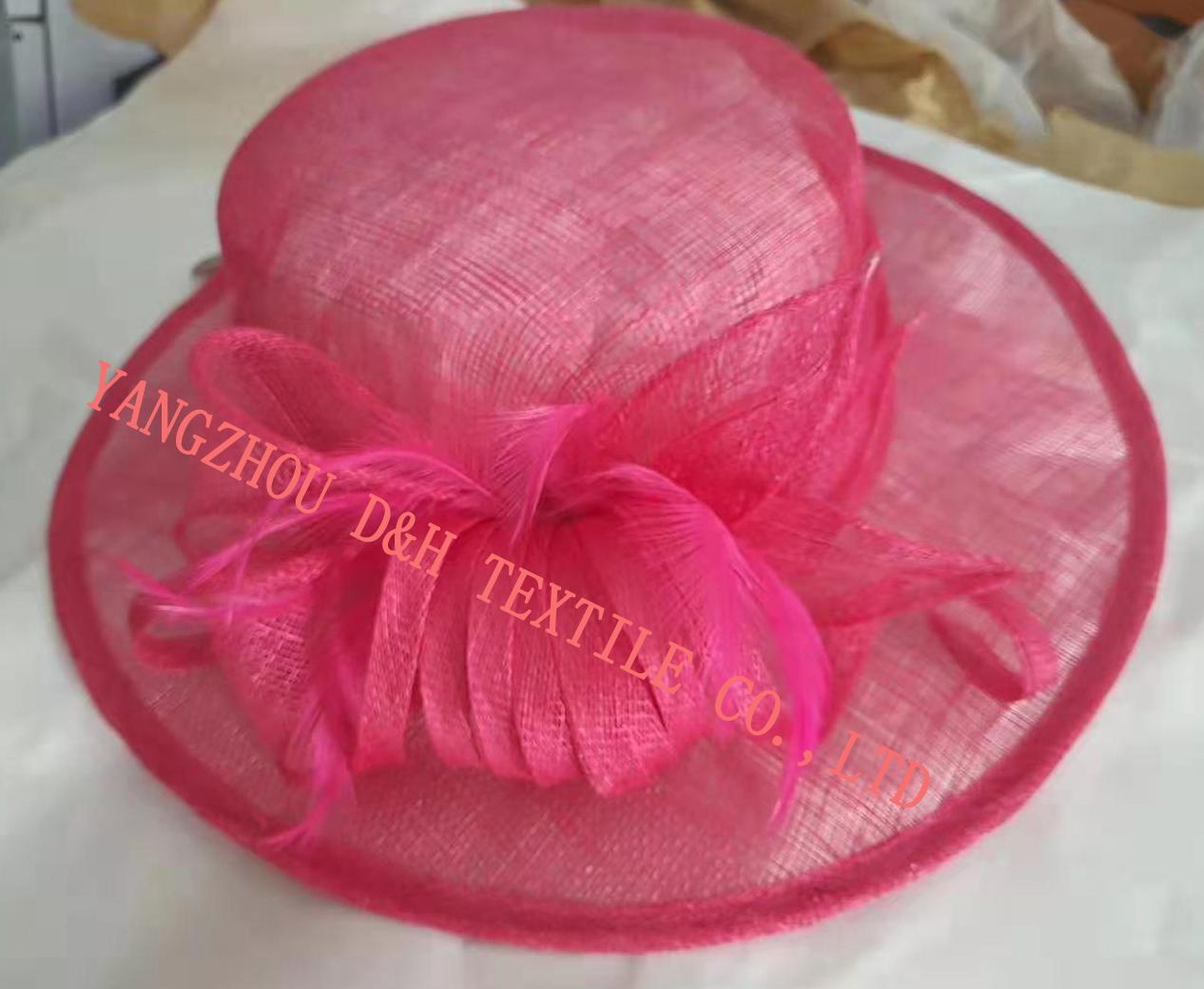 Fashional Sinamay wedding bridal derby dress hat