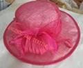 Fashional Sinamay wedding bridal derby dress hat 1