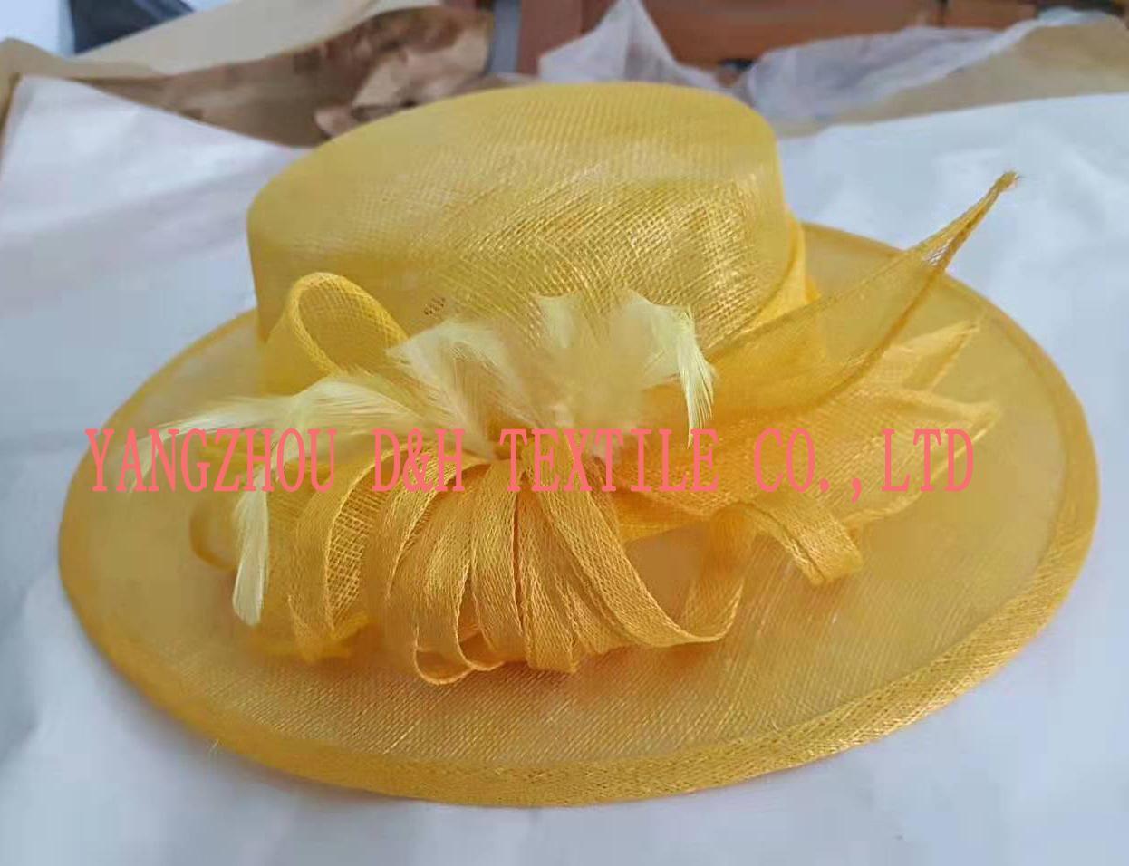 Fashional Sinamay wedding bridal derby dress hat 2