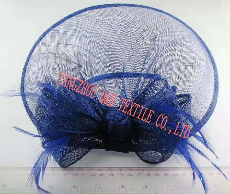 Fashional Sinamay wedding bridal derby dress hat 3