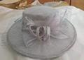 Fashional Sinamay wedding bridal derby dress hat 4