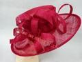 Fashional Sinamay wedding bridal derby dress hat 5