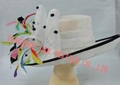 Sinamay Hat Cocktail Hats Kentucky Derby Hat Race Hat