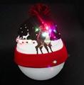 Christmas Custom Led Knitted Hat/ Led Beanie Hat/ Led Winter Gorros Hat 2