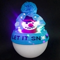 Christmas Custom Led Knitted Hat/ Led Beanie Hat/ Led Winter Gorros Hat 4