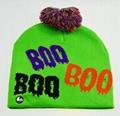 Holiday Custom Led Knitted Hat/ Led Beanie Hat/ Led Winter Gorros Hat 2