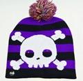 Holiday Custom Led Knitted Hat/ Led Beanie Hat/ Led Winter Gorros Hat