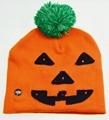 Holiday Custom Led Knitted Hat/ Led Beanie Hat/ Led Winter Gorros Hat 6