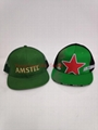 100%Cotton Embroidery Heineken Beer Promotion Sport Football  Cap
