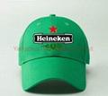 Cotton Embroidery Gorros Heineken Beer
