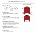 High Quality Customized Cotton Baseball Sport Caps With Good Quality