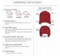 High Quality Customized Jockey Cotton Baseball Sport Gorros Cap