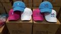 America Pigment Wash Cotton Beach Gorros Souvenir EDWC Jockey cap 6