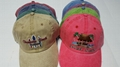 America Pigment Wash Cotton Beach Gorros Souvenir EDWC Jockey cap
