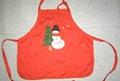 Printed Kitchen fashion cooking Christmas holiday Apron