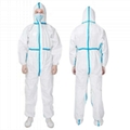 Corona Virus Disposable Personal Coveralls Protect Medical Protective Hoodie 1