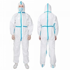 Corona Virus Disposable Personal Coveralls Protect Medical Protective Hoodie