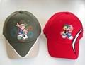 Baseball Cap with PVC Logo