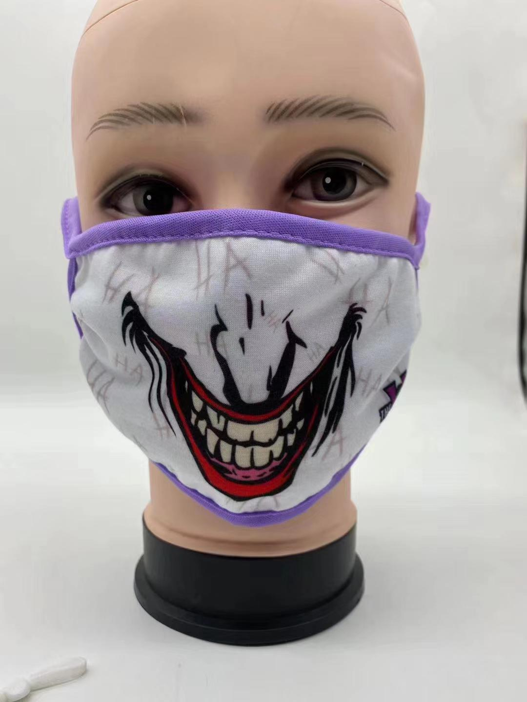 Fashion Protective washable anti odor fabric Isolation face mask 1