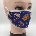 Fashion Protective washable anti odor fabric Isolation face mask 2