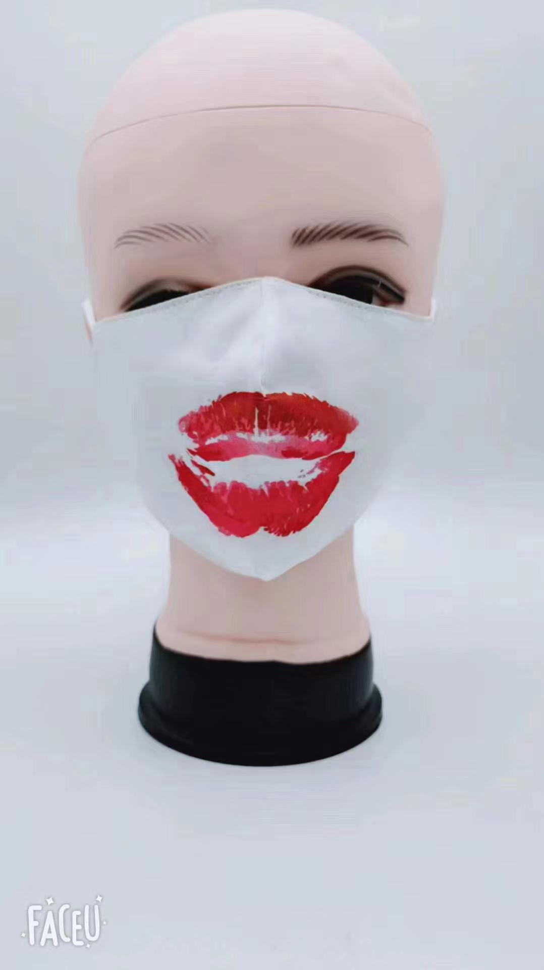 Fashion Protective washable anti odor fabric Isolation face mask 4