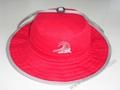 Red Large big Brim Fashion Sun Straw bucket Hat 2