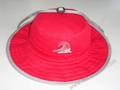 Red Large big Brim Fashion Sun Straw bucket Hat