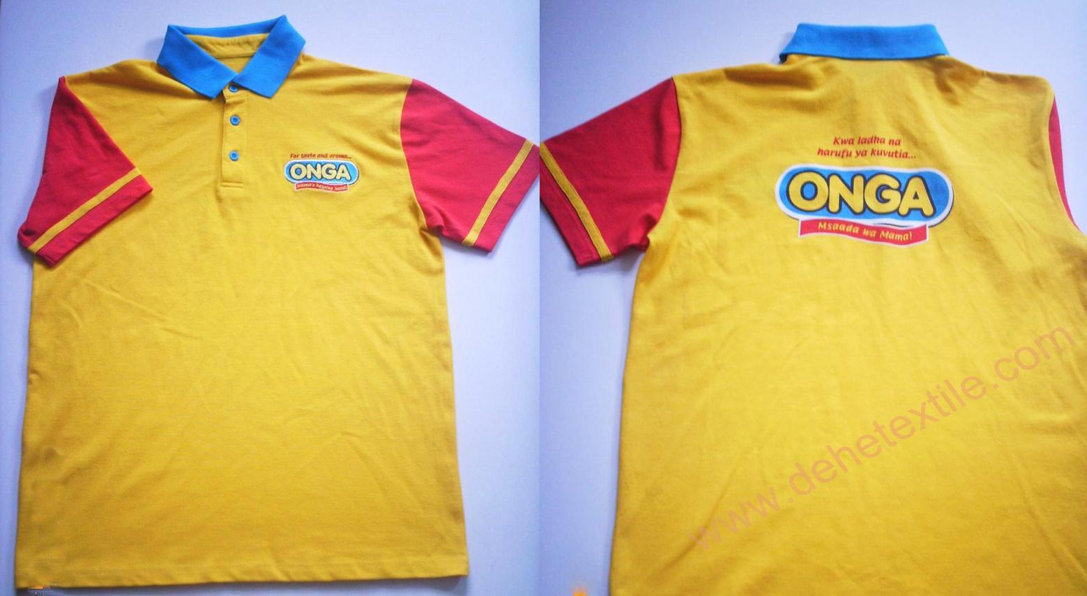 High Quality Customized logo 250gsm Cotton Fabric School Uniform Polo Shirt  1