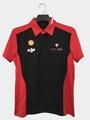 High Quality Customized logo 250gsm Cotton Fabric School Uniform Polo Shirt  9