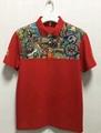 High Quality Customized logo 250gsm Cotton Fabric School Uniform Polo Shirt  14
