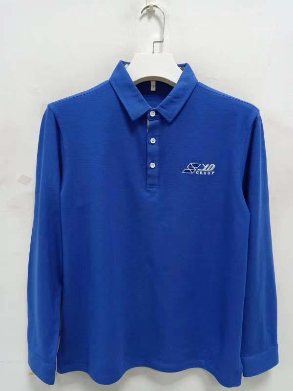 High Quality Customized logo 250gsm Cotton Fabric School Uniform Polo Shirt  15