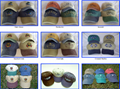 6panel cotton pigment washed gorros caps